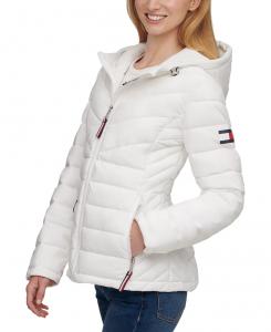 Tommy Hilfiger dámská bunda Stretch Packable Puffer Coat