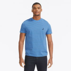 Nautica tričko STRIPED COTTON TEE