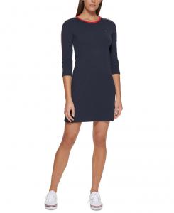 Tommy Hilfiger dámské šaty Logo Tape Dress