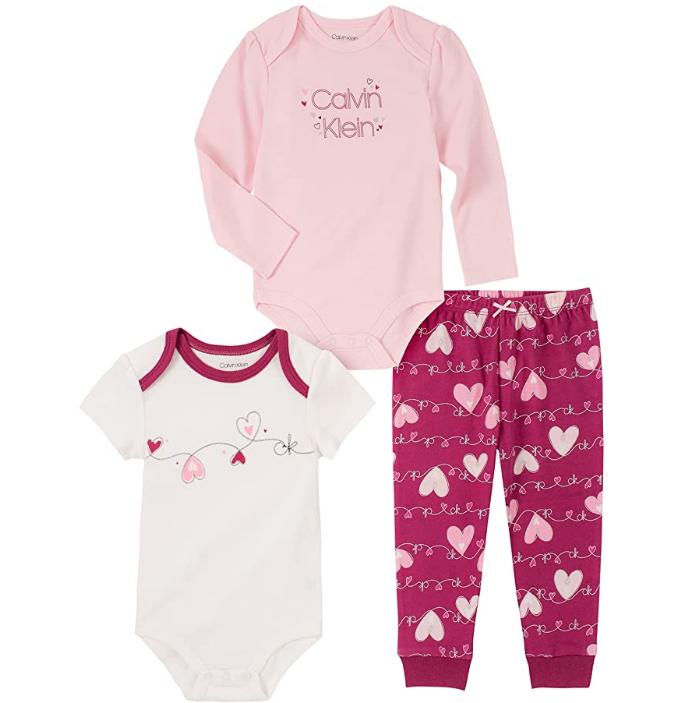 Calvin Klein souprava pro miminko Lucy