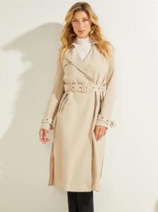 GUESS dámský zimní kabát Stefania Longline Trench