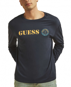 GUESS pánské tričko s dlouhý rukávem Originals