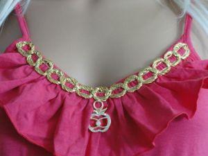 Apple Bottoms dámské šaty Ruffle Pink