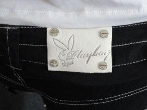 Playboy dámské kalhoty Merlin Black