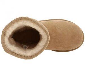 UGG dětské boty Classic pro větší děti béžová