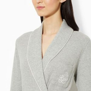 Ralph Lauren župan Short Shawl-Collar Robe