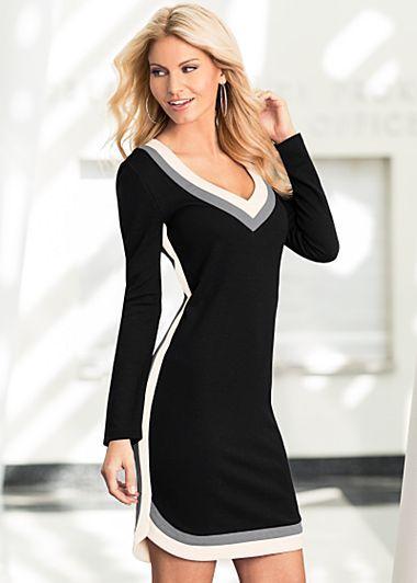 VENUS šaty Color Block Dress