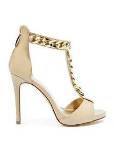 GUESS dámské boty Raguel Chain T Strap Sandals