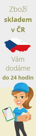 Zboží skladem ČR vám dodáme do 24 hodin